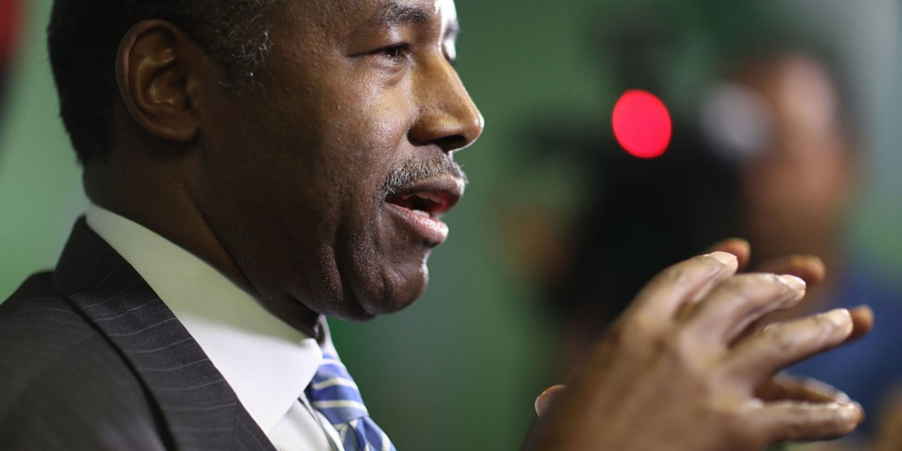HUD Secretary Ben Carson sent Oreo cookies to a Democrat after this video of their interaction went viral