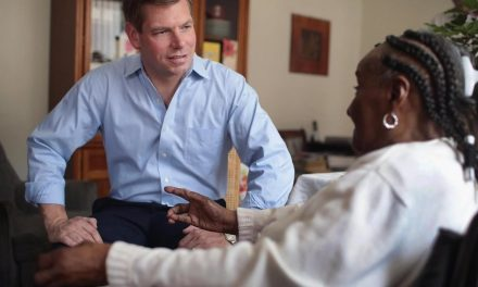 Only a certain type of 'white guy' should be president, according to marginal candidate Eric Swalwell