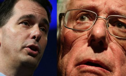 Bernie Sanders bashes Scott Walker — and he fires back with some facts on socialism and Venezuela