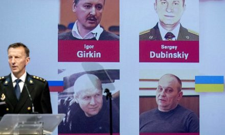 Four charged in the 2014 crash of Malaysian passenger jet in Ukraine