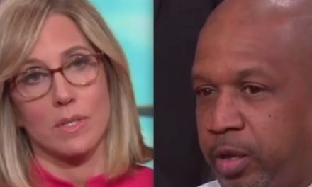 White CNN anchor tries educating black Democrat who voted for President Trump that racism has increased. It doesn't work.