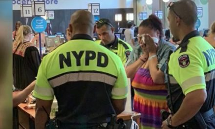 NYPD officers' compassionate gesture leaves shoplifting suspect in tears