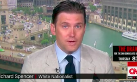 CNN invites a white supremacist on air to talk about Trump's tweets