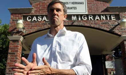 Beto O'Rourke campaigns in Mexico to hear concerns from asylum-seekers