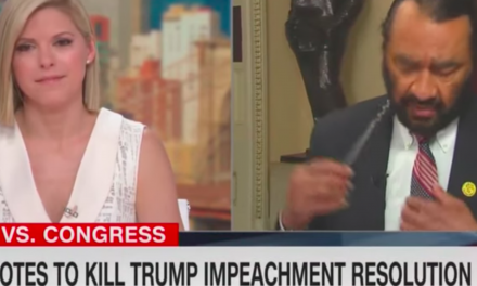 Rep. Al Green abruptly exits CNN interview after question about failed impeachment vote helping Trump