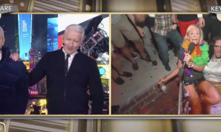 C*cks, Shots And A Drag Queen Mermaid: Here's How CNN Rang In The New Year