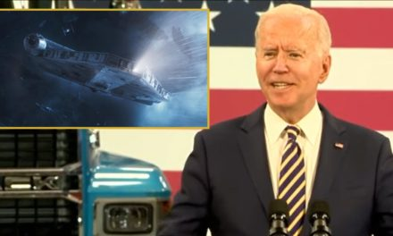 Biden Tells Of The Time He Drove A Corellian Freighter And Made The Kessel Run In Less Than 12 Parsecs