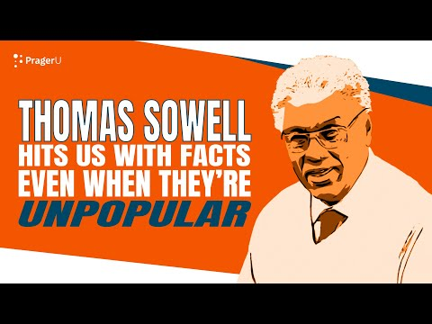 Thomas Sowell Hits Us with Facts Even When They're Unpopular