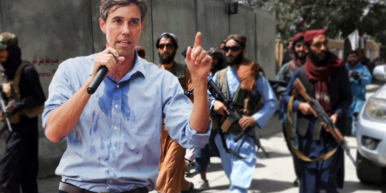 White House Sends Beto To Help Taliban Confiscate Afghans' Weapons