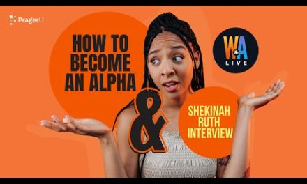 How to Become an Alpha & Real Shekinah Interview – Will and Amala LIVE