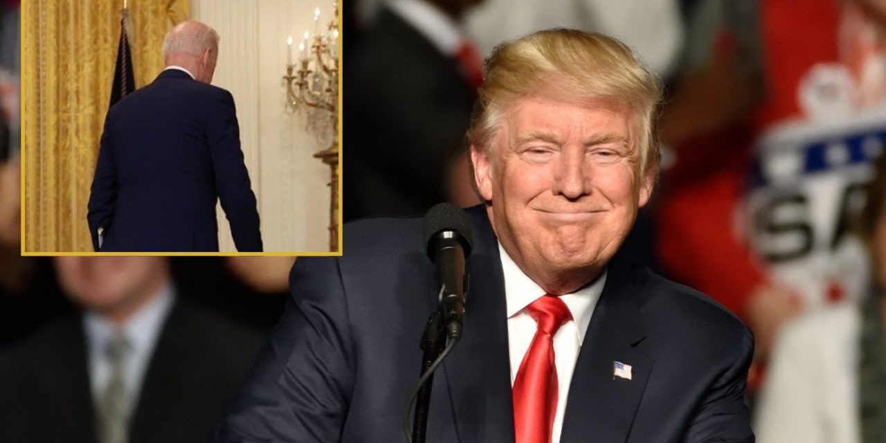 4D Chess: Trump Reveals He Let Biden Win So His Presidency Would Look Amazing By Comparison
