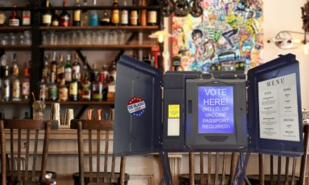 New York Restaurant Adds Voting Booth So They Can Allow People In Without ID