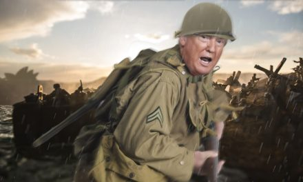 Trump Leads Allied Assault On Beaches Of Sydney To Liberate Australia