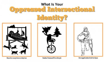 What Is Your Oppressed Intersectional Identity? Use This Handy Chart To Find Out!