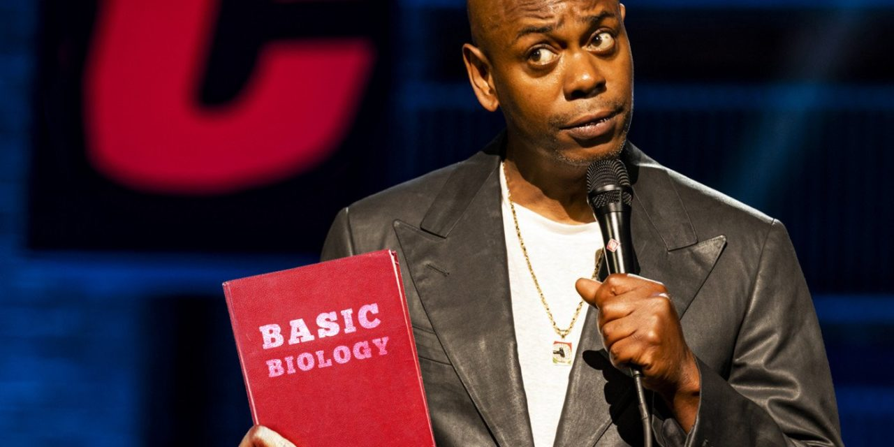 In Controversial New Netflix Special, Dave Chappelle Just Reads From A Biology Textbook
