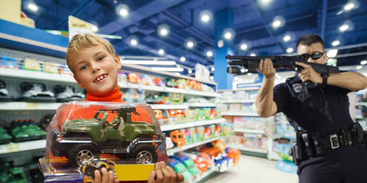 California Orders Police To Arrest Children Who Pick Out Toys Traditionally Associated With Their Biological Gender