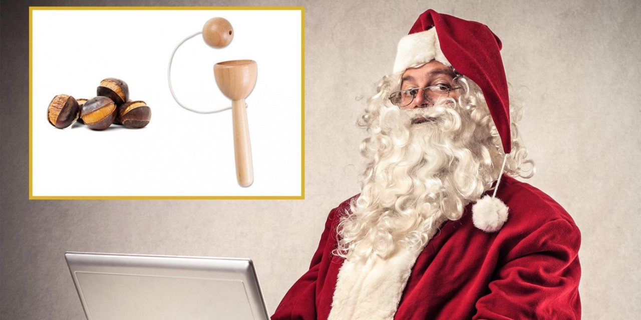 Santa Announces That Due To Supply Chain Issues, You Can Now Choose Between A Roasted Chestnut Or A Ball-In-A-Cup