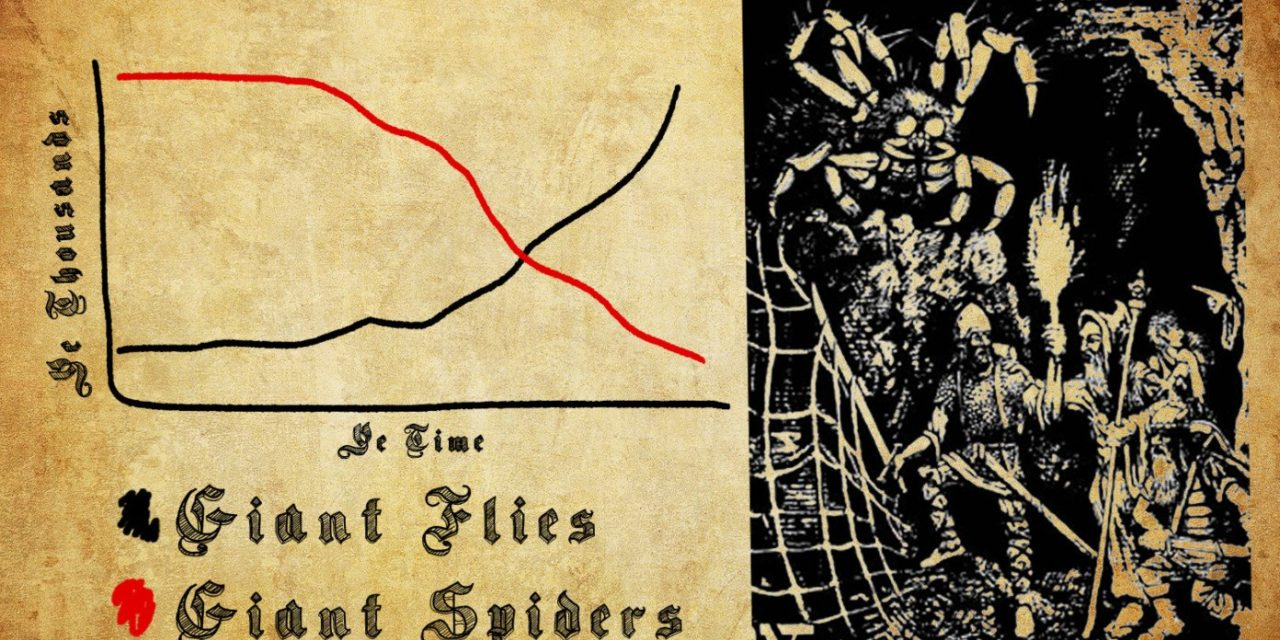 Concerning Growth In Number Of Giant Flies As Adventurers Keep Slaying All The Giant Spiders