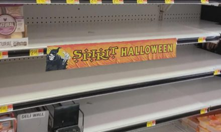 Spirit Halloween Sets Up Shop On Empty Grocery Store Shelves