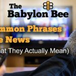 16 Common Phrases In The News And What They Actually Mean
