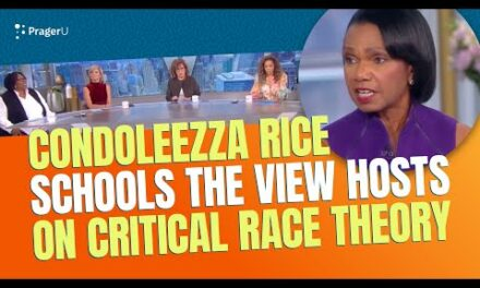 """Condoleezza Rice Schools """"The View"""" Hosts on Critical Race Theory"""